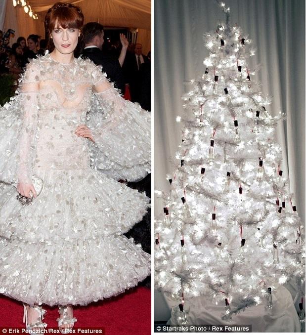 Новогоднее платье Флоренс Уэлч