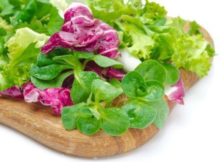 диета с салатными листьями