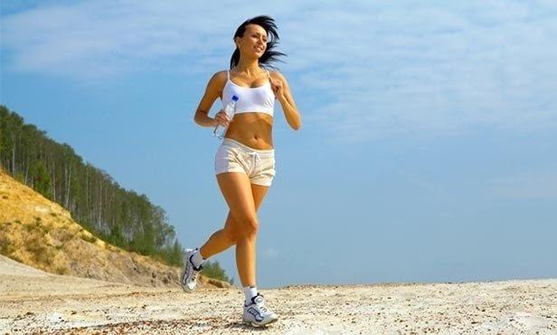 бег утром чтобы похудеть фото